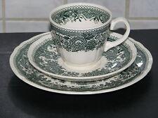 Villeroy & Boch Fasan grün Tasse Unterteller Kuchenteller Burgenland 3-teilig