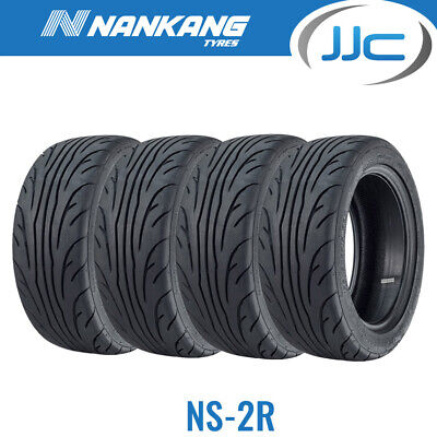 2 x Nankang 245 40 ZR18 97W XL NS-2R STREET Composto Semi Slick Pneumatici 2454018