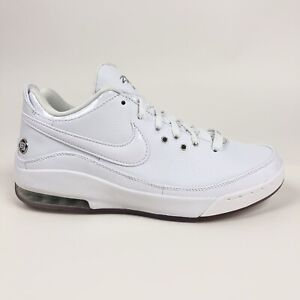 separation shoes a4ad0 eaa0c Details about Nike Lebron VII 7 Low Mens White Metallic Silver Shoes Size  15 Retro 395717-102