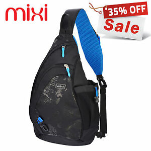 Mixi Chest Bag Sling Bag Sports Gym Bag Casual Cycling Bag Riding ...