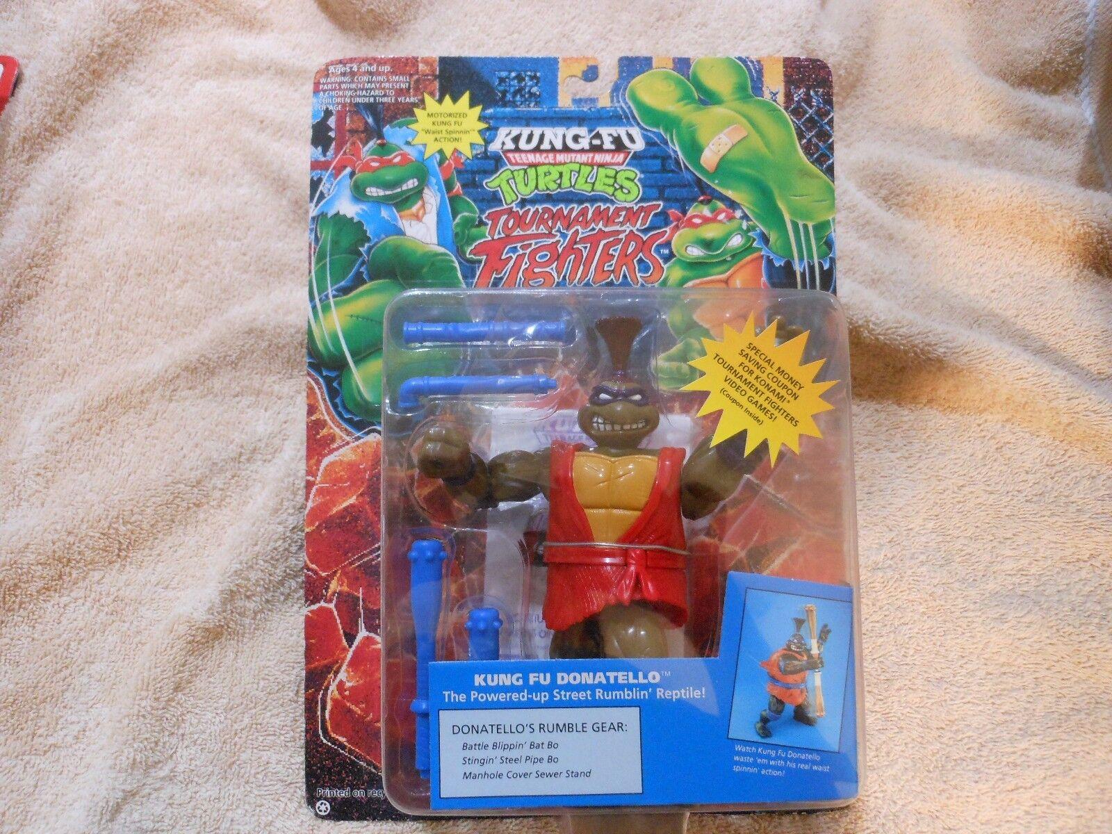 KUNG-FU TMNT Mutant Ninja Turtles Tournament Fighters Donatello NEW ON CARD