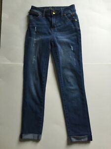 EUC Justice Skinny Ankle Rolled Jeans 8R