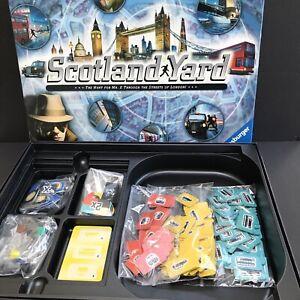Ravensburger Scotland Yard Board Game Hunt Mr X through London Complete