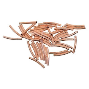 50-sets-Rose-Gold-Copper-Curved-Tube-Bead-Spacer-2-7mm-DIY-Jewelry-Finding