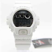 Casio G-Shock DW-6900NB-7D Men Metallic White Resin Strap Digital Sport Watch