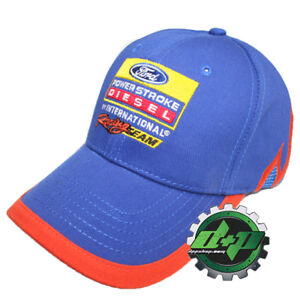 589d4bee8 Details about ford diesel powerstroke nascar hat summer mesh ball cap turbo  truck series race