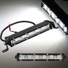 """2X 7"""" Zoll 18W LED Arbeitsscheinwerfer Flutlicht Light bar SUV 4WD Offroad Jeep"""