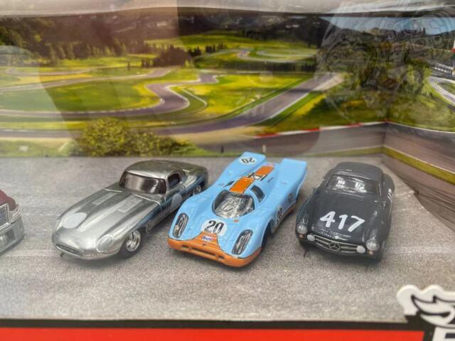 2020 Hot Wheels Premium Car Culture Team Transport Set Jaguar Porsche Mercedes