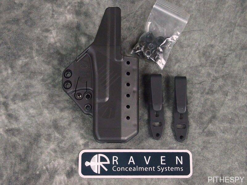 Kit básico Raven ocultamiento Eidolon Tuckable Funda RMR Alto Para Glock 17 22 31