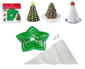 Biscotti Albero Di Natale 3d.Dettagli Su Imperdibile Tagliapasta Stampo Stampi Stella Albero Di Natale Biscotti Marzapane