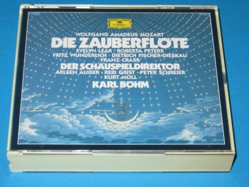 1 von 1 - Böhm, Lear, Peters, Wunderlich, Schreier / Mozart: Die Zauberflöte - 3 CD-Set