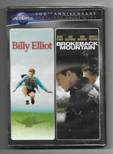 Billy-Elliot-Brokeback-Mountain-2-Movie-Double-Feature-Sealed-New