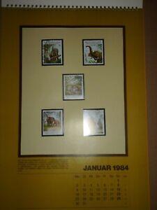 Raab-Verlag-Briefmarkenkalender-1984-zertifiziert-limitierte-Auflage