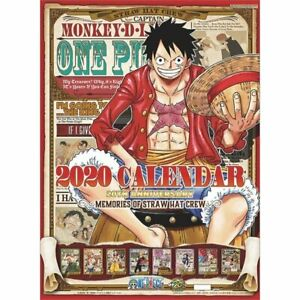 Calendrier One Piece 2020.Details About Pre Sale One Piece Wall Calendar 2020 A2 Size From Japan One Piece