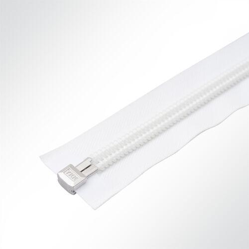 YKK® 10C Reißverschluss Zeltreisser Spiralreißverschluss teilbar 175cm weiß