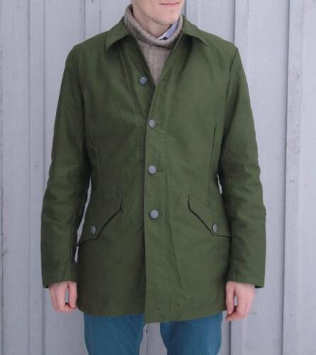 Herren Stilvoll Echt Militär Spielfeld Armee Kampf Jacke BDU Mantel Vintage
