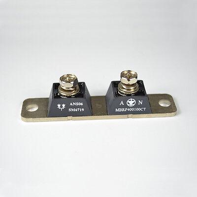 NEW 400A 100V SBD Schottky Barrier Rectifier Diode Module Black Silver Tone