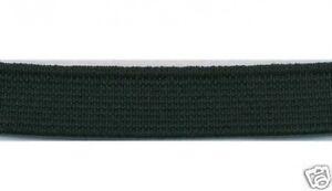 """1"""" 25 Mm Noir Plat Élastique 5 M à Coudre Couture Craft-afficher Le Titre D'origine 6fokmavt-10105153-516063608"""