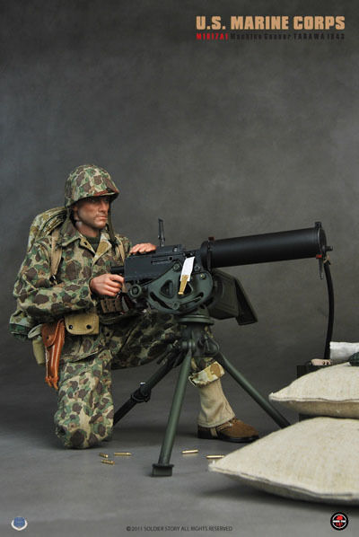 Action Figure 1 6 Soldier Story USMC Tarawa - Figurine 12 pouces Dragon Medicom