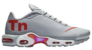 6ceaf1621a0e New NIKE AIR MAX PLUS TN AQ1088-001 Wolf Grey Red White