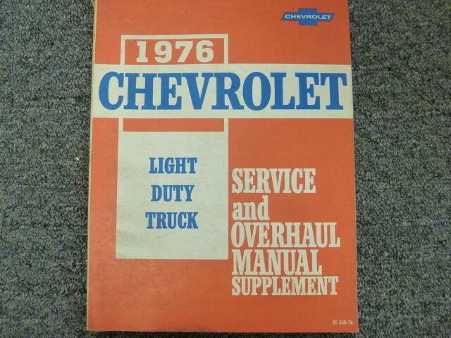 1976 Chevy C10 C20 C30 K10 K20 K30 Truck Engine Overhaul