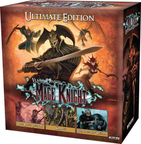 NEW Mage Knight Board Game Ultimate Edition FACTORY SEALED