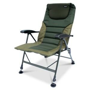 ABODE-Air-Lite-Alloy-Padded-Easy-Arm-Carp-Fishing-Camping-Recliner-Chair