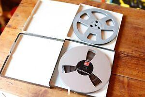BASF LH LPR 35 90min 549m + Extra Reel 1/4 7in Reel To Reel Tape 1200