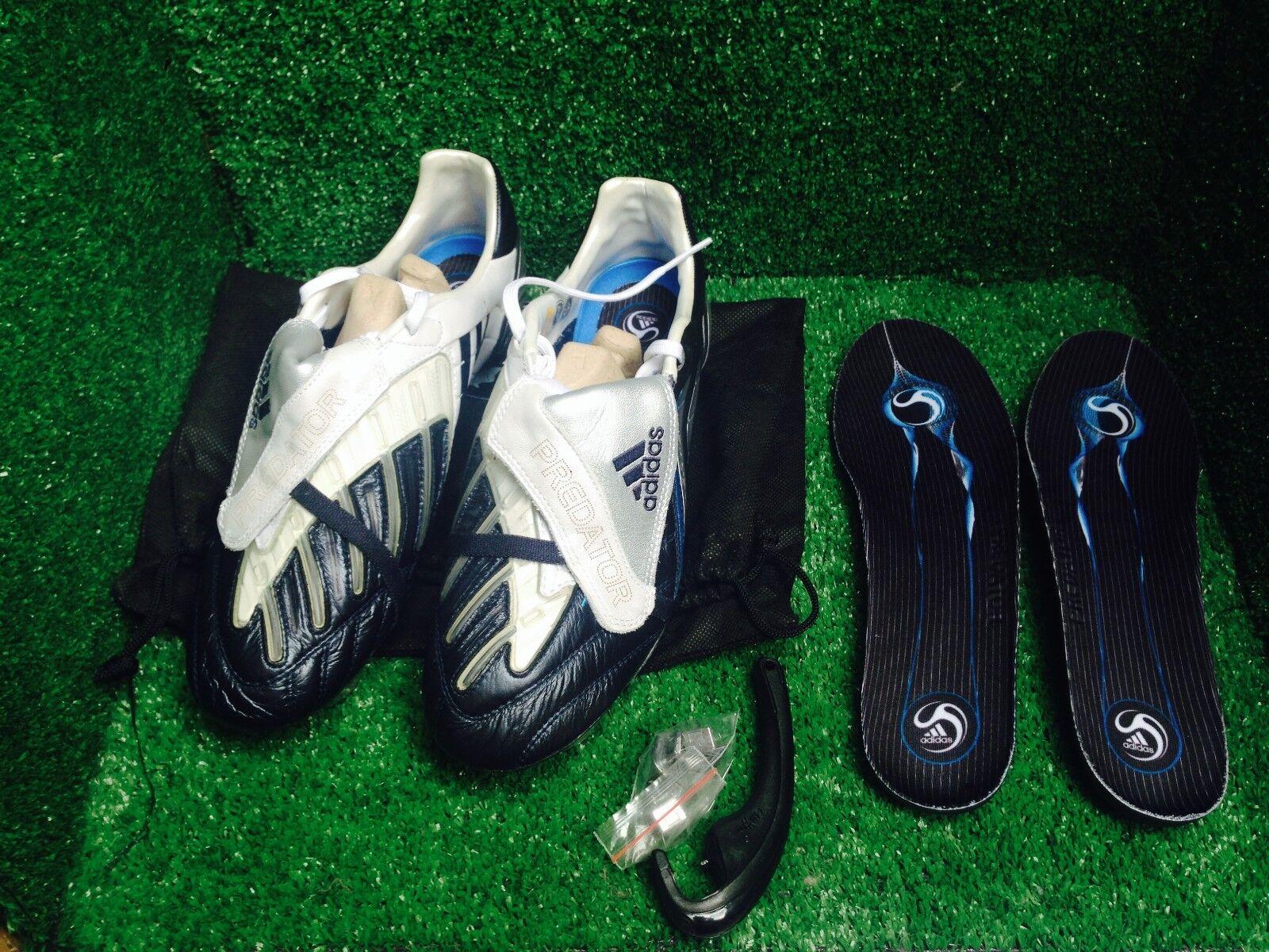 Adidas Prossoator energiaswerve CL F50 spider Dimensione 7,5 8 41 bianca blu