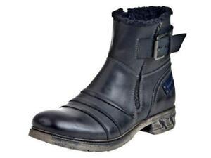 Bugatti-Stiefelette-Stiefel-Schnuerschuhe-Boots-Schuhe-F1750-8-40-46-Neu9