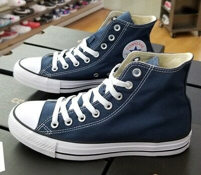 converse all star hi navy canvas