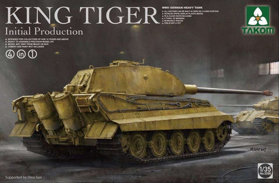Takom 1 35 King Tiger Initial Production