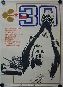 Affiche-Tcheque-30-Ans-Socialisme-1975