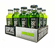 12 PAK - ISOPURE 20g Protein Keto Drink Whey Isolate Zero Carb APPLE MELON SALE