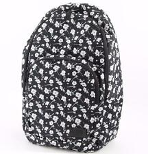 black and white floral vans backpack