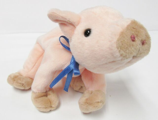 3465ae8fead Ty Beanie Baby Original Knuckles Collectible Stuffed Animal Pink Pig  Protect Tag