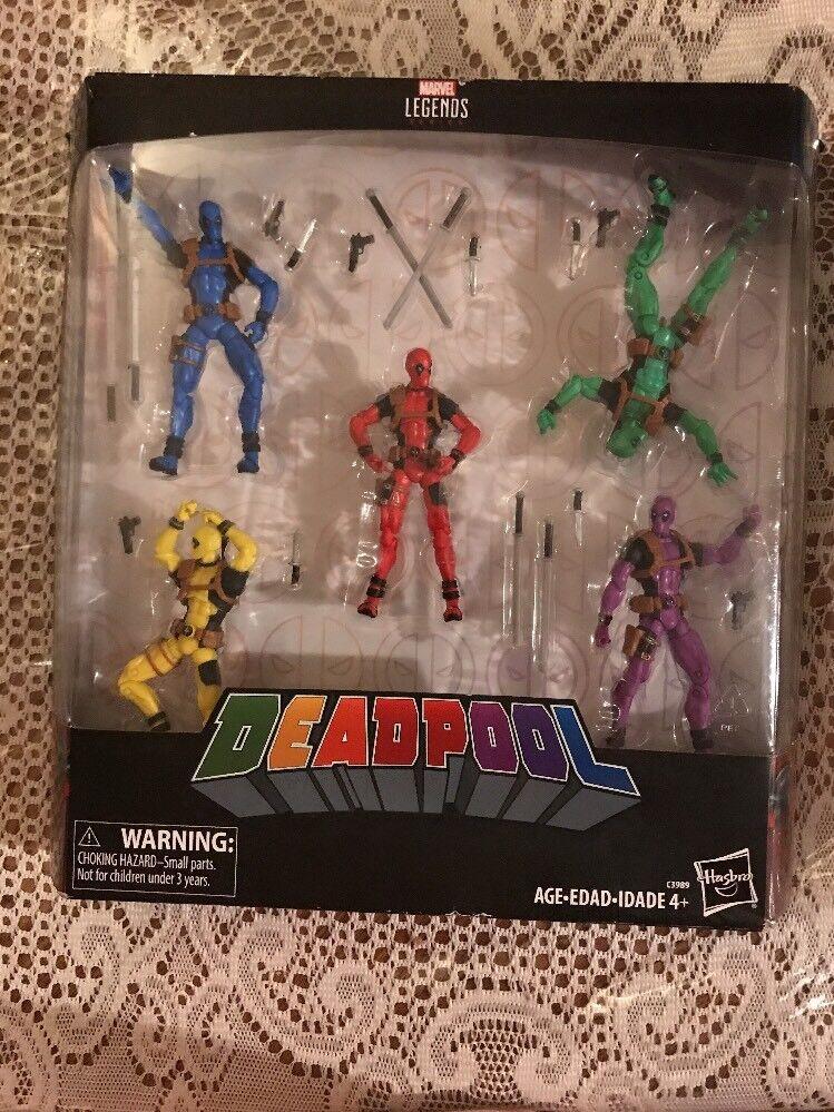 Marvel - legenden fr deadpool regenbogen - truppe viel satz 5 zahlen - nippel - lesen