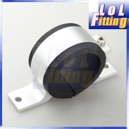 52mm ID Fuel Pump Bracket Anodised single Billet Aluminium Filter Clamp Cradle