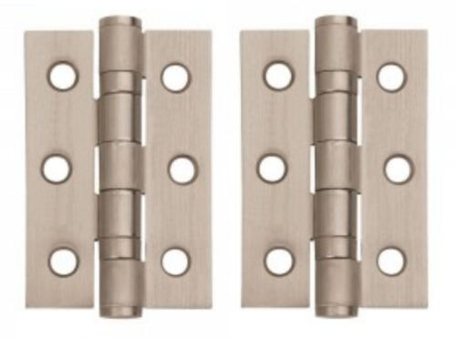 Dual Satin Nickel /& Chrome Lever on Rose Door Handles Accessories// Latches ARC