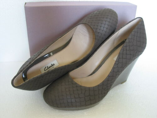 5 et Comet talons Nouveau Chaussures Clarks Trail à Taille compensés cuir souple 8 en ZgARAw