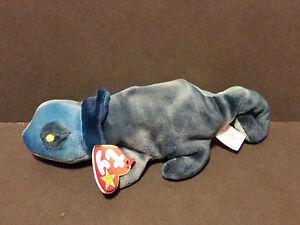1997 Ty Beanie Babies Chameleon Rainbow Pe Pellets W Tags Ebay