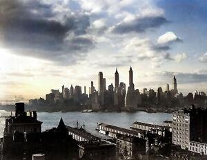 "New York City Vintage Old Photo 8.5/"" x 11/"" Reprint 1917 Tea Room /& Art Gallery"