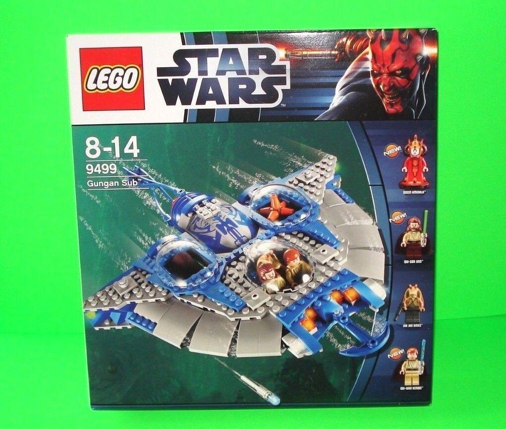 LEGO STAR WARS SET 9499     GUNGAN SUB MIT ALLEN FIGUREN - AMIDALA OVP     =TOP
