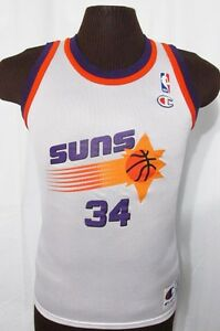 0bf21d8c3 Image is loading vintage-CHARLES-BARKLEY-PHOENIX-SUNS -CHAMPION-BASKETBALL-JERSEY-