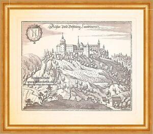 Château Et Forteresse Landskron Villach Ossiacher Hohe Höhenburg Merian 0968-afficher Le Titre D'origine Couleur Rapide