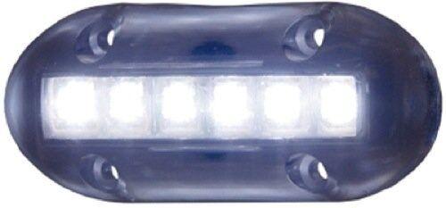 WHITE UNDERWATER LED BOAT LIGHT TH MARINE