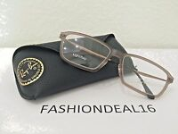 Authentic Rayban Lightray Brown Rb7038 5457 Italy Eyeglasses