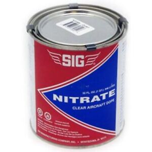 SIG NITRATE CLEAR DOPE   32 ounces   FUEL PROOF