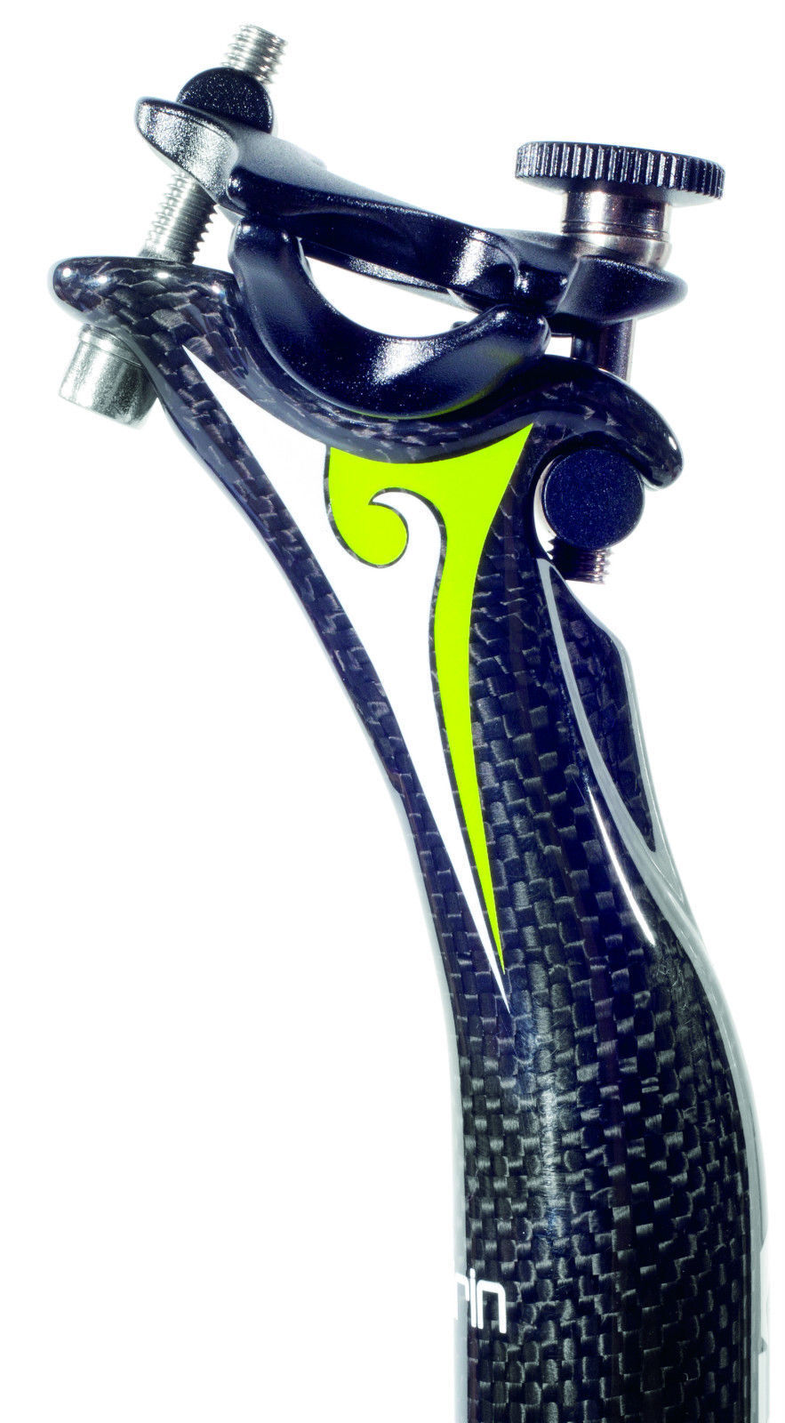 NEW MONOCOQUE 3K CARBON FIBRE ROAD SEAT POST  MICRO ADJUST HEAD KEIRIN  cheap in high quality