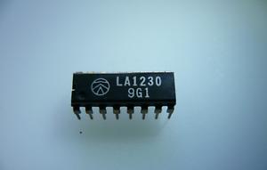 LA1230 SANYO INTEGRATED CIRCUIT DIP     /'/'UK COMPANY SINCE 1983 NIKKO/'/'